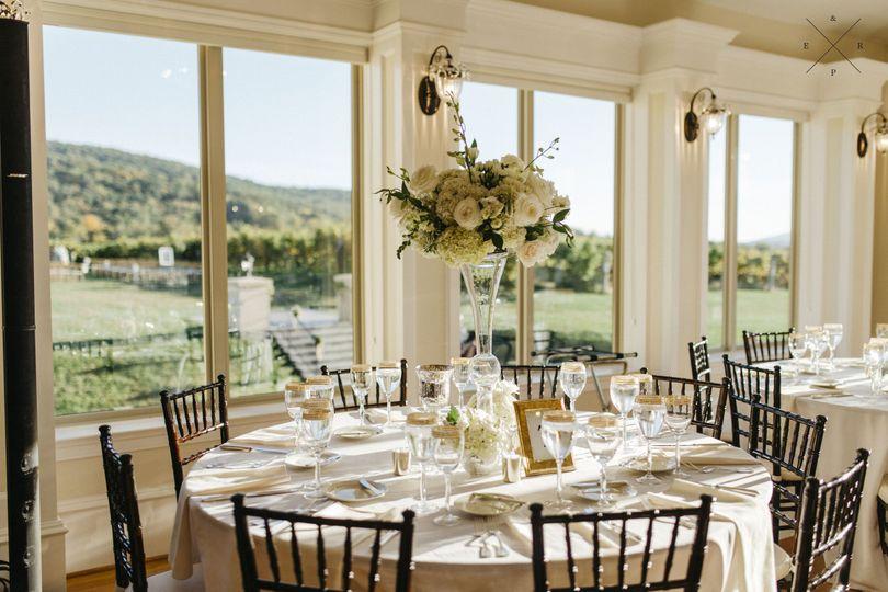 Breaux vineyards venue purcellville va weddingwire