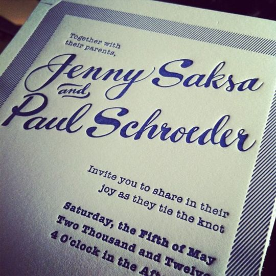 Some hand-drawn names by Ladyfingers Letterpress!