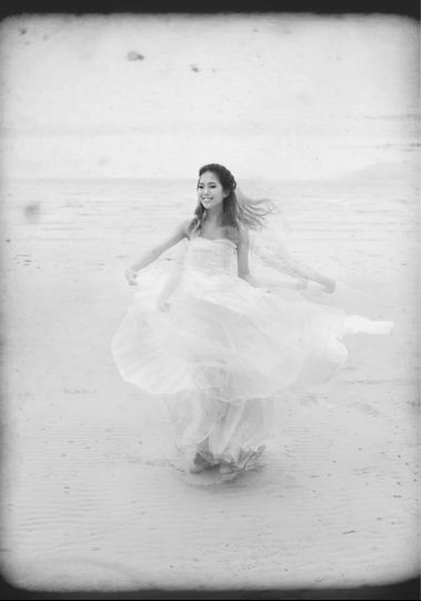 bridalshootbeachdance