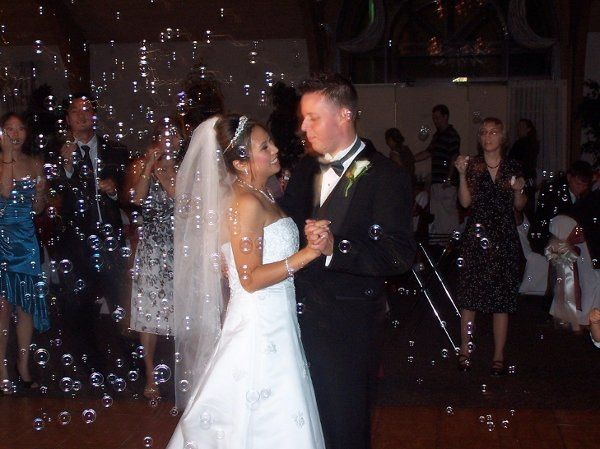 First Dance with Bubble Machine!
