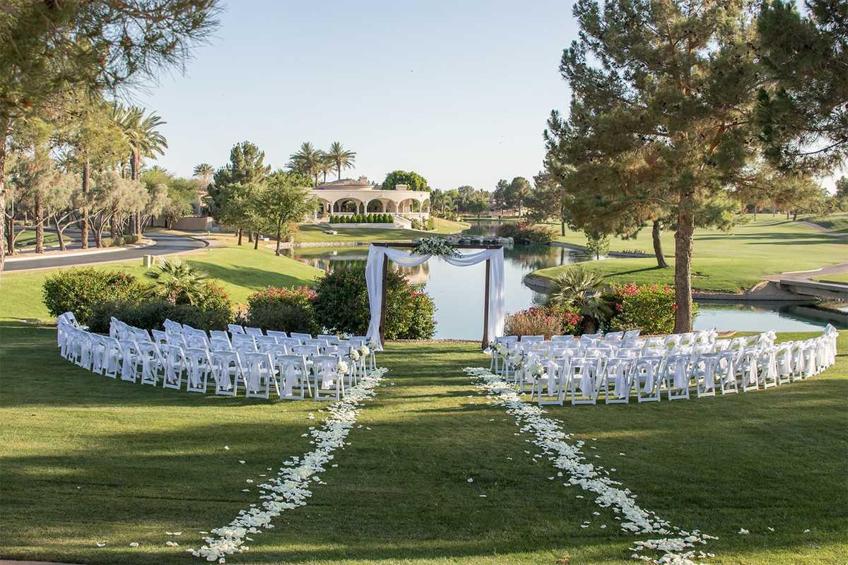 Ocotillo Golf Resort by Wedgewood Weddings