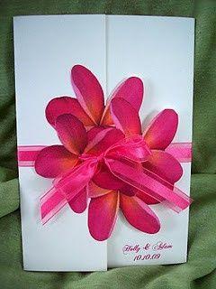 flower invite
