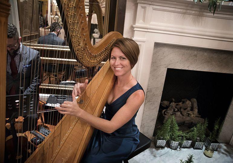 Harpist, Kristin King