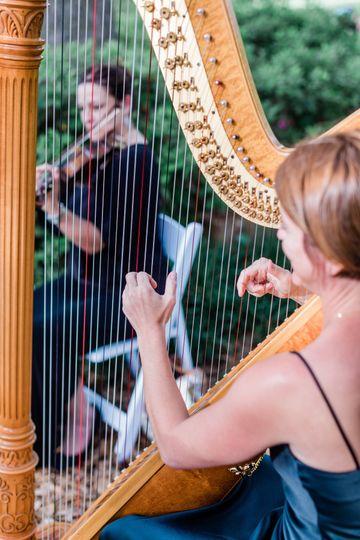 Harp & Violin