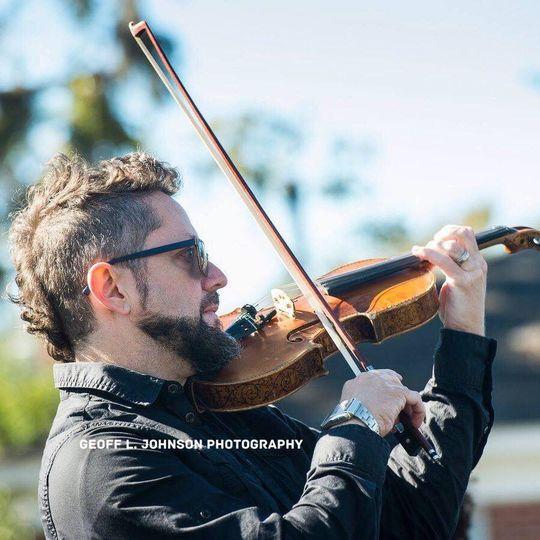 Violinist, Ricardo Ochoa