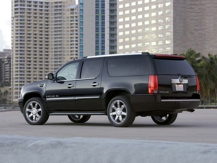 SUV service for up to 7 passengers