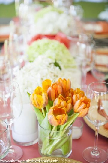 assortedfloralcenterpieces