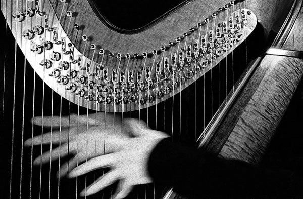 harp 26 hands toned