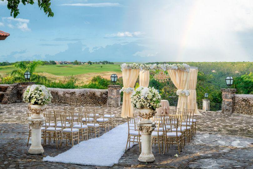 PROMISE- ceremony set up