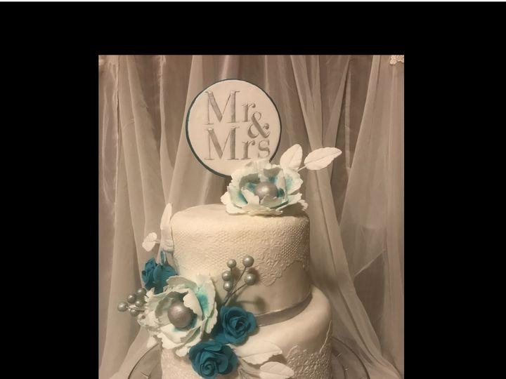 Tmx 1507773477917 Wedding Lace Cake 1 Osseo, MN wedding cake
