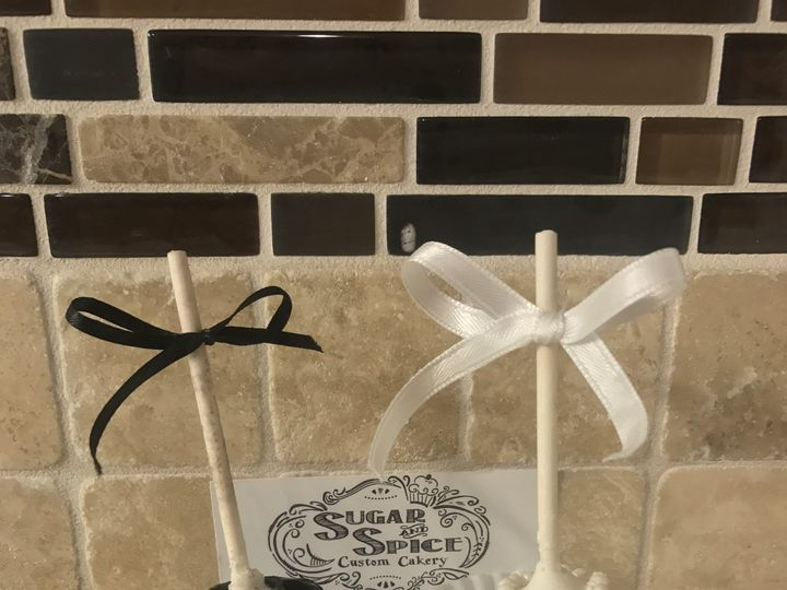 Tmx 1513217438266 Bride And Groom Cakepops Osseo, MN wedding cake