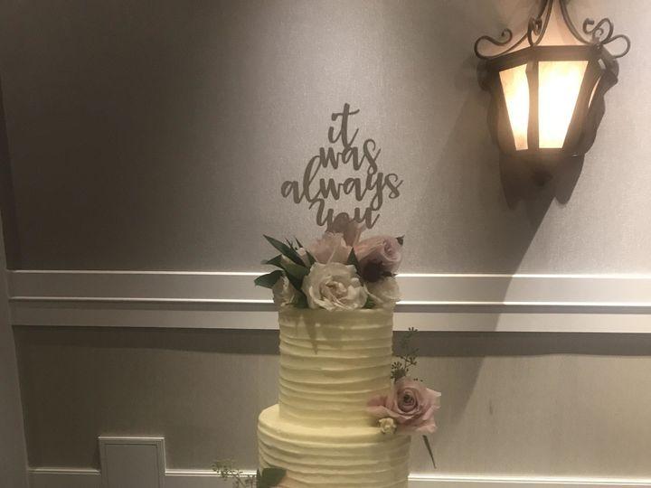 Tmx 1513217683722 Fresh Flower Wedding Cake Osseo, MN wedding cake