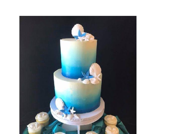 Tmx 1518745581 3ef88f78bba0d5d9 1518745580 B39ce387fbc3fe8e 1518745580476 1 Seashell Cake 1 Osseo, MN wedding cake