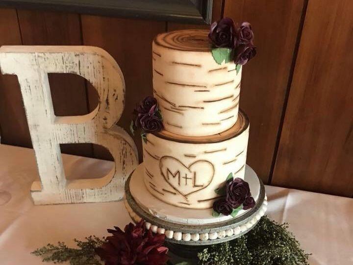 Tmx 1526929765 2b303e2832a758b6 1526929764 1cefad7577355382 1526929763202 1 Birch Tree Wedding Osseo, MN wedding cake