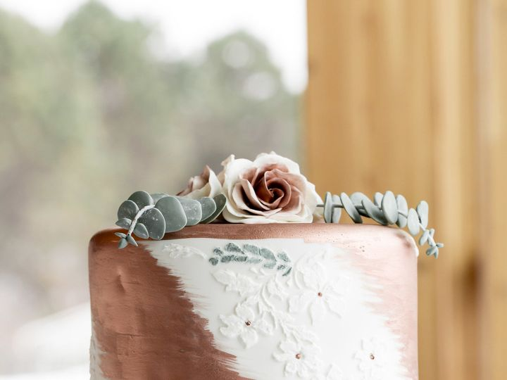 Tmx 1530288940 3b65b2875afbf517 1530288938 3b617bb2cf65b3ab 1530288929645 1 Rose Gold 4 Osseo, MN wedding cake