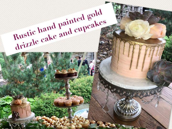 Tmx 1534786765 8ef3a4aad4611918 1534786764 8106edb8bee6f94a 1534786739715 1 Gold Drizzle Rusti Osseo, MN wedding cake