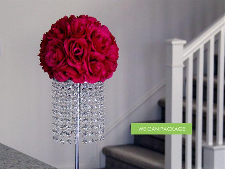 Tmx 1415913820096 Kissingballcenterpiecegrande Irvine, CA wedding eventproduction