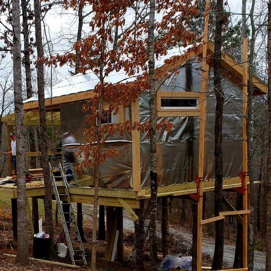 New tree house