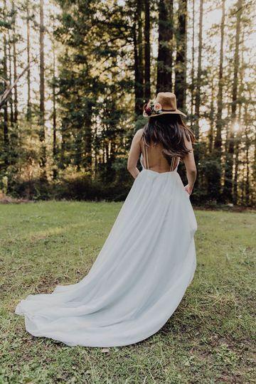 Elle gown