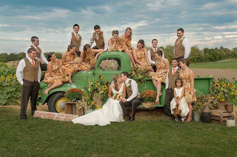 Jillian and Jeremy's September wedding on the family property outside Shepherdstown, West Virginia....