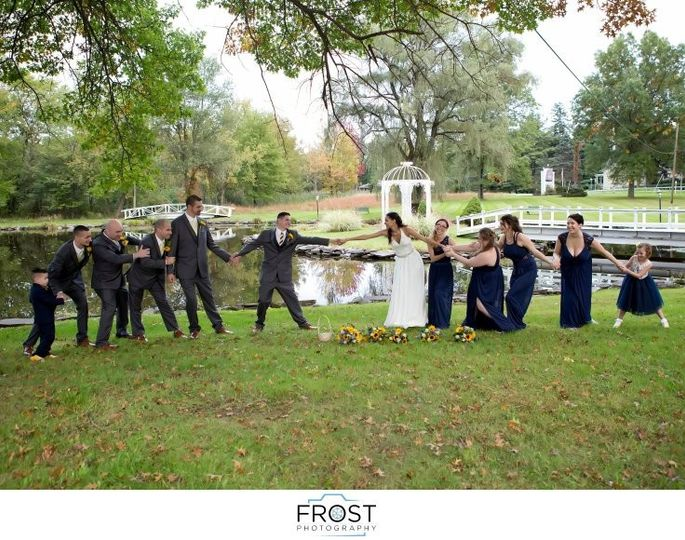 The Bride will ALWAYS win!