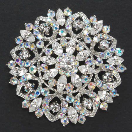 Item No. BH9281 Wedding Brooch Rhinestone bridal brooch