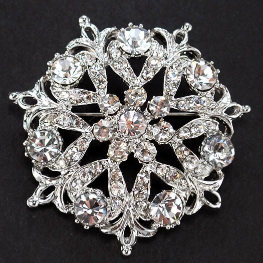 Rhinestone Color :  AB Clear and Clear