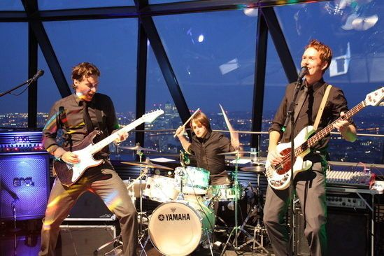 hire a wedding party band