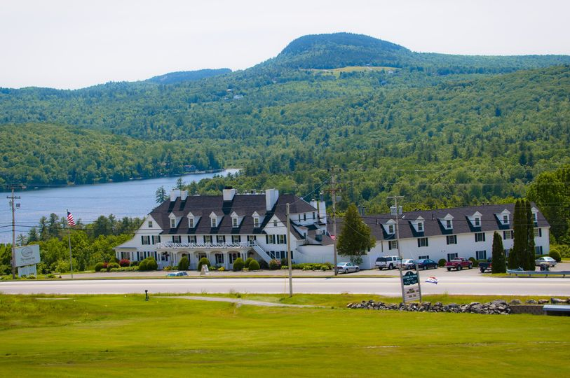 Scenic view of the inn