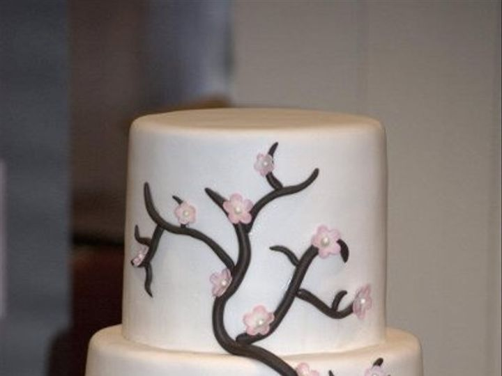 Tmx 1327335602825 Cherry Hinesburg wedding cake