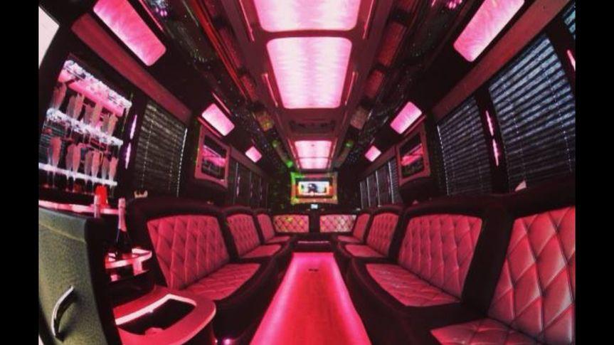 28 Party Bus interior