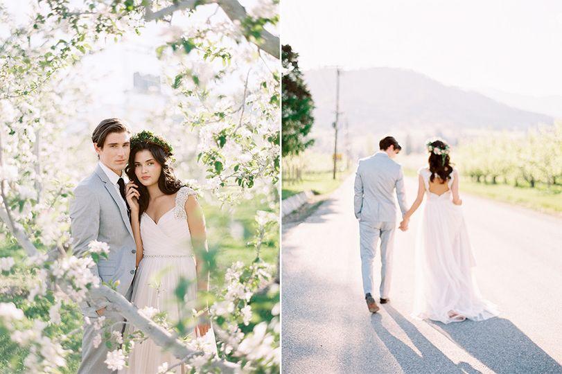 orchard wedding leavenworth wa