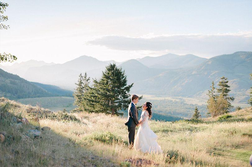 sun mountain lodge wedding winthrop wa
