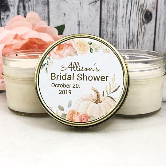 Pumpkin bridal shower