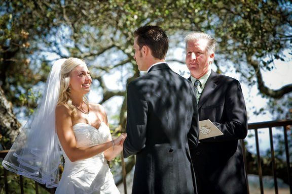 ceremony at Mt Winery, Sweet Pea Wedding Services