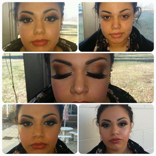 marina make up
