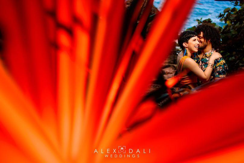 Alex & Dali Wedding Photograph