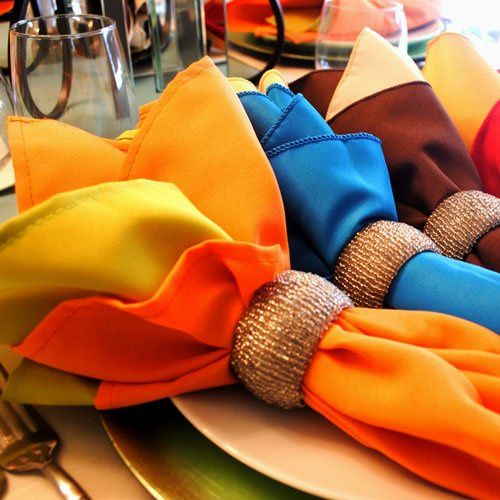 Buy cloth napkins in over 100 colors. Find colors that match your current restaurant linens, or shop...