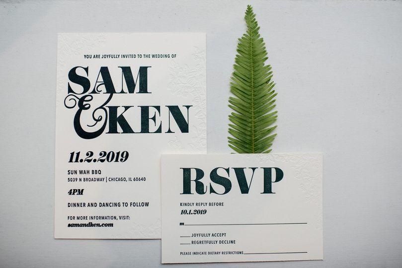 Same Sex Invite - Shutter Sam