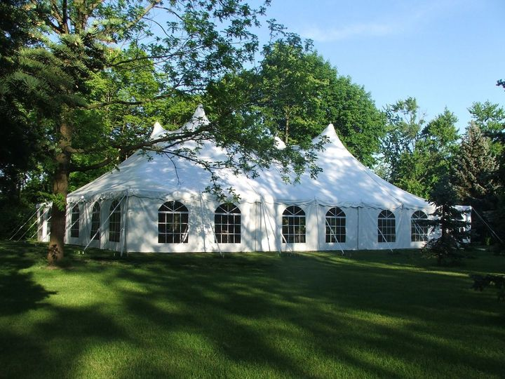 Cathedral tent