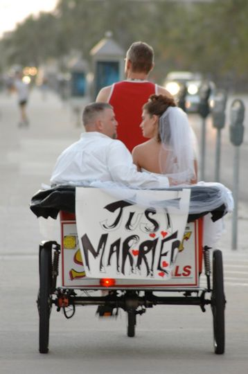 """Just Married"" Ride"