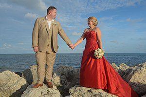 Key West Beach Wedding at Smathers beach.
