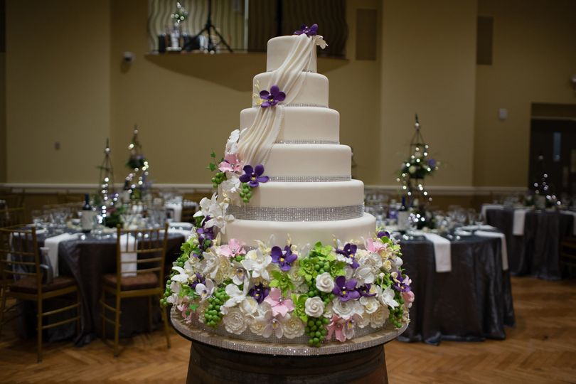 Multi layered cake