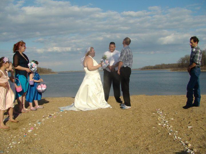 Tmx 1369430615588 Bride Saying Her Vows Stockton wedding planner