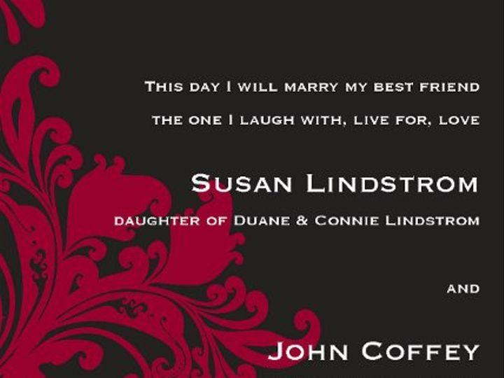 Tmx 1313610555921 Invites5x7Page25 Detroit Lakes wedding invitation