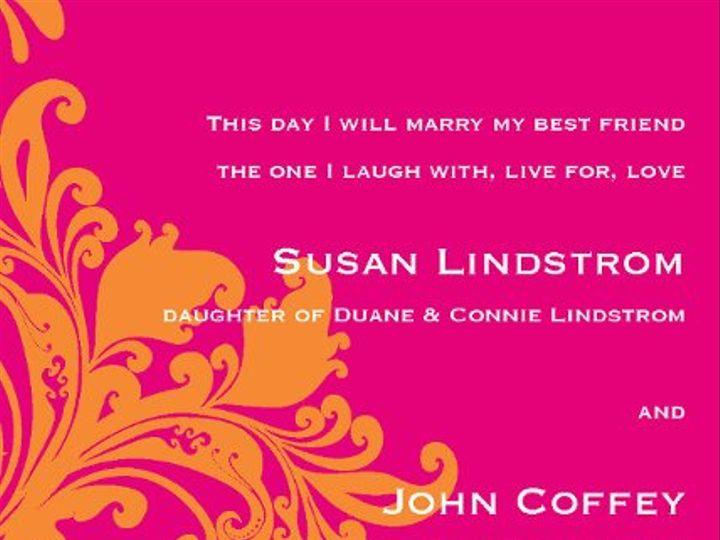 Tmx 1313610559837 Invites5x7Page26 Detroit Lakes wedding invitation