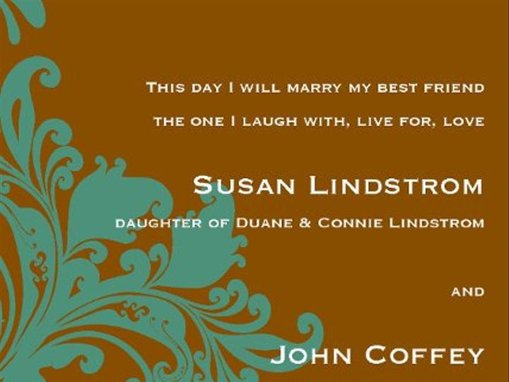 Tmx 1313610563207 Invites5x7Page27 Detroit Lakes wedding invitation