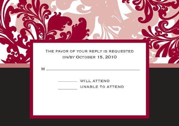 Tmx 1313610618353 RSVP6x425Page01 Detroit Lakes wedding invitation