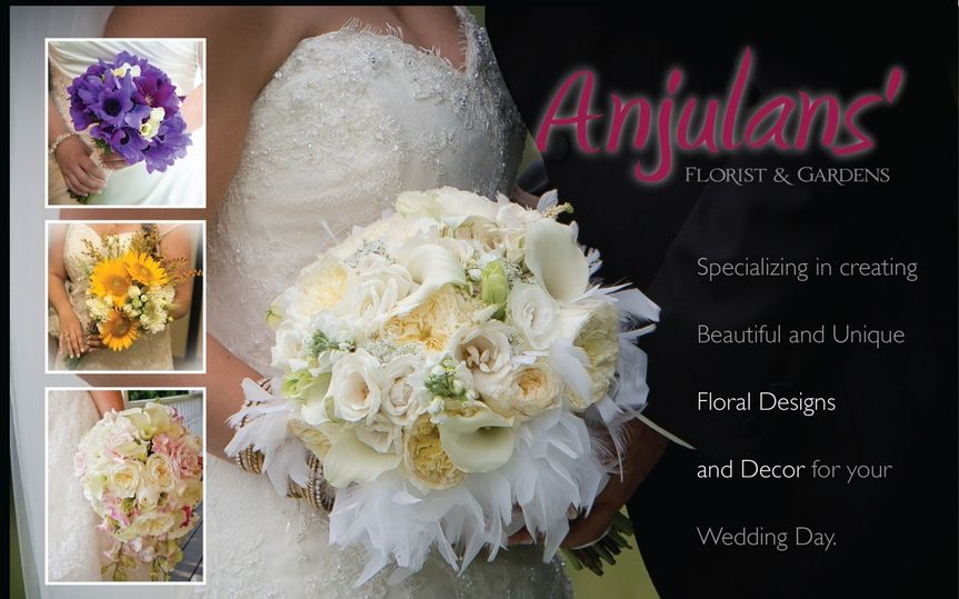 Anjulans' Florist - Floral Design, Event Lighting & Decor