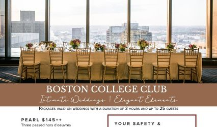 The Harbour Room at Boston College Club 1